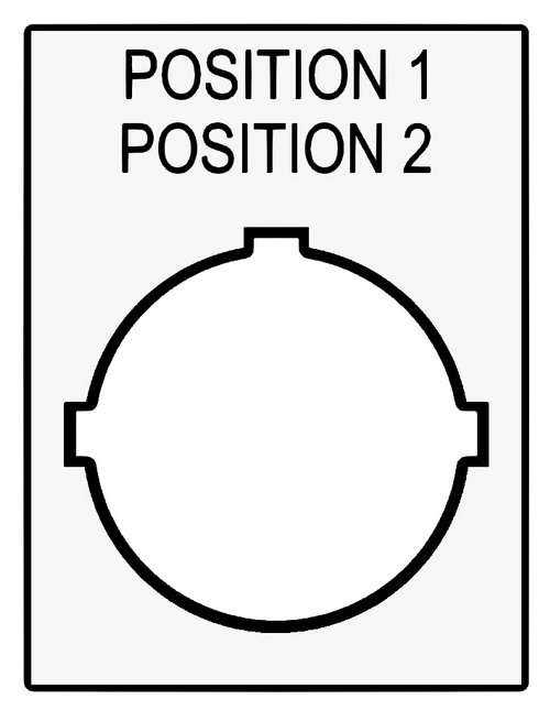 One Position, Two Line